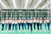 Hoa khôi Sinh viên tham quan nhà máy hiện đại Tân Hiệp Phát