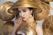 Người đẹp Việt mang nón lá 25kg thi hoa hậu du lịch sinh thái