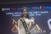 Á khôi mồ côi cha mẹ đại diện VN thi Miss Asia World
