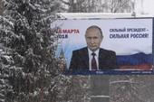 Ông Putin có thể thắng ngay vòng bầu cử đầu tiên?