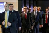 Phái đoàn hùng hậu Mỹ đến Trung Quốc đàm phán thương mại