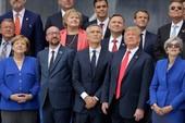 """Hội nghị NATO khai mạc, ông Trump nói Đức là """"tù nhân"""" của Nga"""