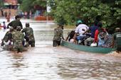 25.000 dân Campuchia sơ tán vì lụt từ Lào đổ qua