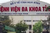 Sản phụ tử vong sau mổ đẻ tại BV đa khoa Hòa Bình
