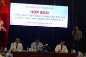 Bộ GD&ĐT giải thích hiện tượng lọt đề thi THPT quốc gia 2018