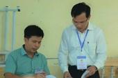 Công bố kết quả chấm thẩm định điểm thi ở Hòa Bình