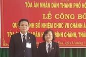 Nhân sự mới huyện Bình Chánh