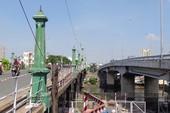 Hạn chế xe tải lưu thông qua cầu Nhị Thiên Đường 2