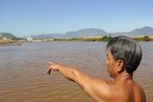 Nước sông chuyển đỏ, cá chết khiến dân hoang mang