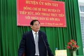 Một trưởng phòng Tài nguyên ở Quảng Ngãi bị khai trừ đảng