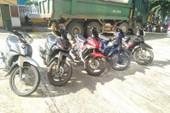 Đôi nam nữ liên tiếp trộm xe máy tại Quảng Nam