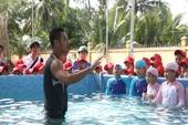 Tặng hồ bơi đầu tiên cho hành trình chống đuối nước quốc gia