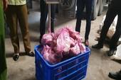 Thu giữ hơn 30 tấn thịt trâu, bò, vú heo... không rõ nguồn gốc