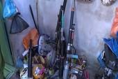 Điều tra vụ trộm xe, phát hiện nơi chế tạo súng trái phép