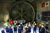 Khoan thành công đường hầm thứ 2 metro Bến Thành-Suối Tiên