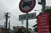 Khẩn trương thay biển báo cấm xe tải vào nội đô