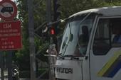 Ngày đầu đổi giờ xe tải vào nội đô: Giao thông thông thoáng