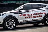 Công an Bình Tân nói về clip 'CSGT vây ô tô dán decal'