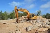 Vụ phá núi Nhỏ: Làm kè chắn sạt lở đất, đá