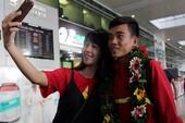U-19 Việt Nam về nước trong niềm hân hoan