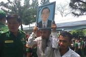 Hình ảnh xúc động trong lễ tang cố TT Phan Văn Khải