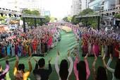 Hơn 100.000 người hưởng ứng Lễ hội áo dài TP.HCM 2018
