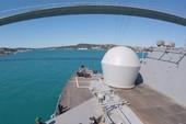 Tàu chiến Mỹ rầm rộ tập trận ngoài khơi Ukraine
