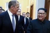 Ông Trump không thích ngoại trưởng Nga gặp ông Kim Jong-un