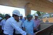 Bộ trưởng GTVT 'phê' tiến độ cao tốc Quảng Ngãi - Đà Nẵng