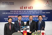 Mitsubishi Motors ký kết thỏa thuận xe ô tô điện VN