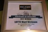 LOTTE Mart - nơi làm việc tốt nhất Việt Nam