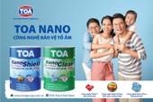 Sơn TOA ra mắt bộ sản phẩm NanoShield và NanoClean