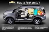 8 kinh nghiệm xếp đồ trên xe SUV