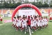 Đã chọn ra 18 cầu thủ xuất sắc đi thi đấu tại Nhật Bản