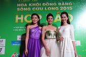 Hoa hậu Ngọc Hân đọ sắc với HH Thu Thảo và á hậu Huyền My