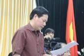 Đề nghị kỷ luật cách chức Giám đốc BVĐK Hòa Bình