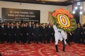 Lãnh đạo Đảng, Nhà nước viếng cố TT  Phan Văn Khải