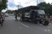 Người đàn ông chết thảm dưới bánh xe tải ở Bình Dương
