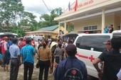 Người nhà đau đớn nhận dạng 13 người bị nạn ở Quảng Nam