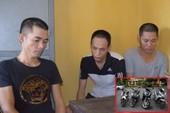 Bắt nhóm chuyên đột nhập vào nhà trộm xe ở Quảng Ninh