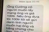 Chánh VP Đoàn ĐBQH Quảng Trị bị nhắn tin đe dọa, tống tiền