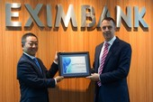 Eximbank: Giải thưởng thanh toán quốc tế xuất sắc