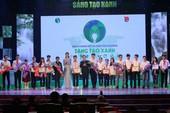 Chung kết và trao giải Sáng tạo xanh 2016