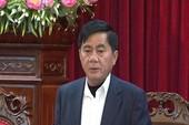 Bầu ông Trần Cẩm Tú làm chủ nhiệm Ủy ban Kiểm tra Trung ương