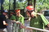 Dựng lại hiện trường vụ tử vong của phóng viên Hải Đường