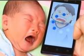 Xuất hiện ứng dụng giải mã tiếng khóc trẻ em