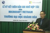 Microsoft hỗ trợ đào tạo công nghệ cho sinh viên