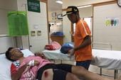 Sau tai nạn, Lê Văn Duẩn vào bệnh viện theo dõi