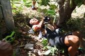 Tay đua Đăng Khoa té lúc đổ đèo chặng 18 Cúp TH