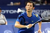 Tiến Minh tái ngộ Ajay Jayaram tại tứ kết giải Nhật Bản